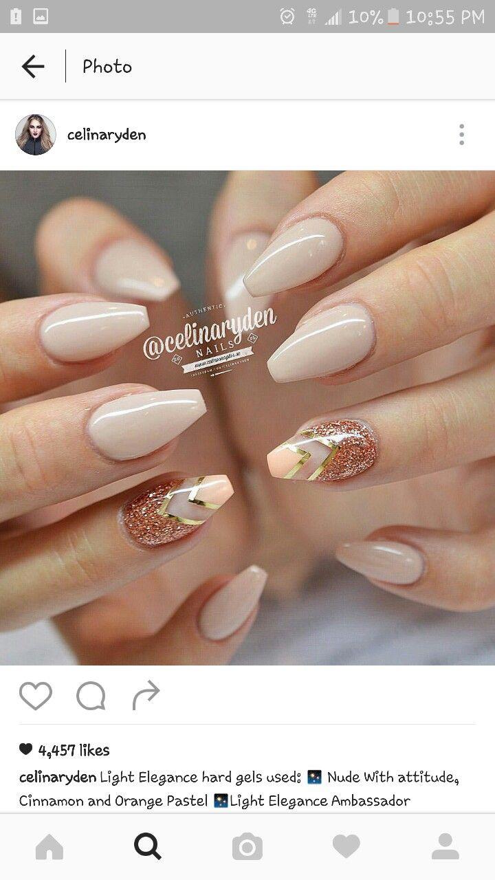 best 25 ballerina nails shape ideas on pinterest coffin nail