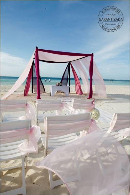 Hay momentos unicos y otros memorables #Ceremonia #Boda #Playa  #organiza La mejor #Boda con Nosotros #LoveMemories #Weddings