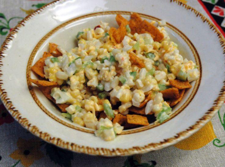 Frito Corn Salad: Corn Dips With Frito, Side Dishes, Pinch Recipes, Corn Salad Recipes, Frito Corn Salad, Corn Salads, I D Pinch, Sweet Neic, Corn Salad With Frito