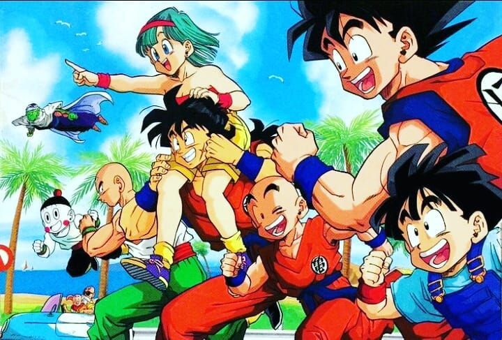 Image result for dragon ball friends