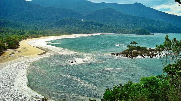 Praia de Castelhanos - #Ilhabela - São Paulo - #Brasil #Brazil www.facebook.com/IlhabelaBrasil