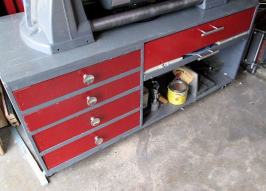 Base Cabinet For A Shopsmith Mini | Shopsmith | Pinterest | Woodworking ideas, Woodworking and Lathe