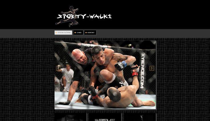 http://www.sporty-walki.info/ Strona o sportach walki