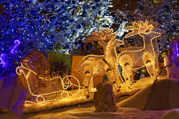 Festive decorations at Stuttgart's Christmas market & more of Germany's best Christmas markets by rail