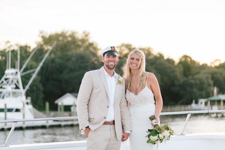 CHARLESTON WEDDINGS - Carolina Girl Yacht wedding Riverland Studios