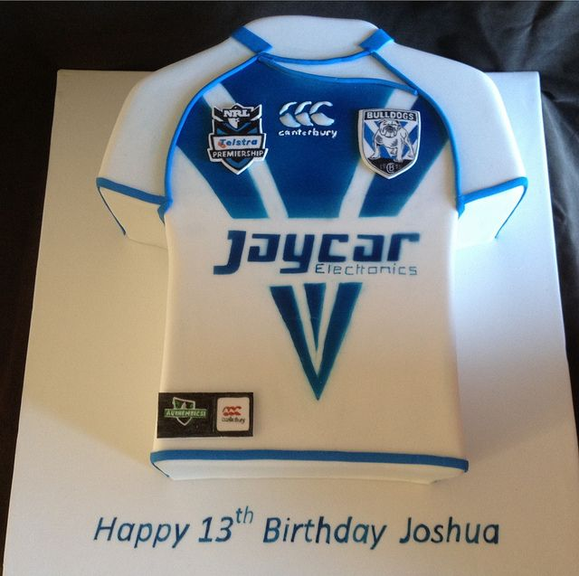 NRL Bulldogs Cake  Flickr Photo Sharing