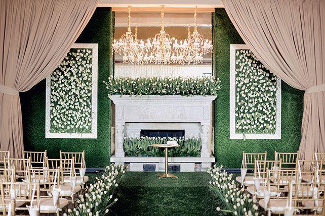 Море тюльпанов: весенняя свадьба Сергея и Надежды