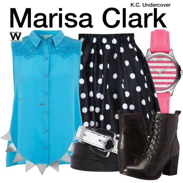 Inspired by Veronica Dunne as Marisa Clark on K.C. Undercover.