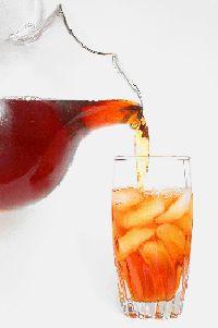 Rooibos iced tea w/ honey