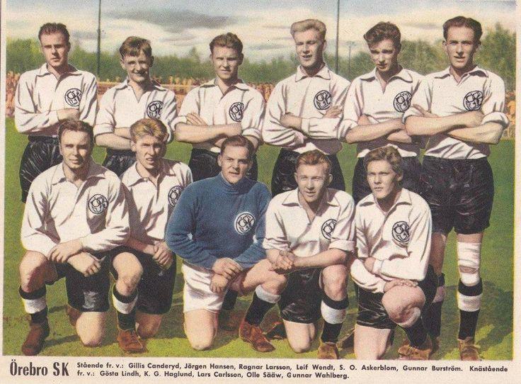 Örebro SK, de Suecia 1955