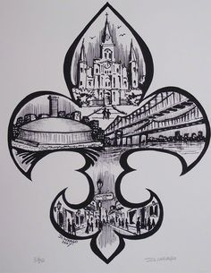 new orleans skyline tattoo - Google Search