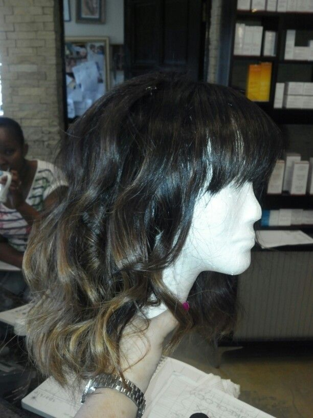 Ombre sheitel colour by Justine Taitz