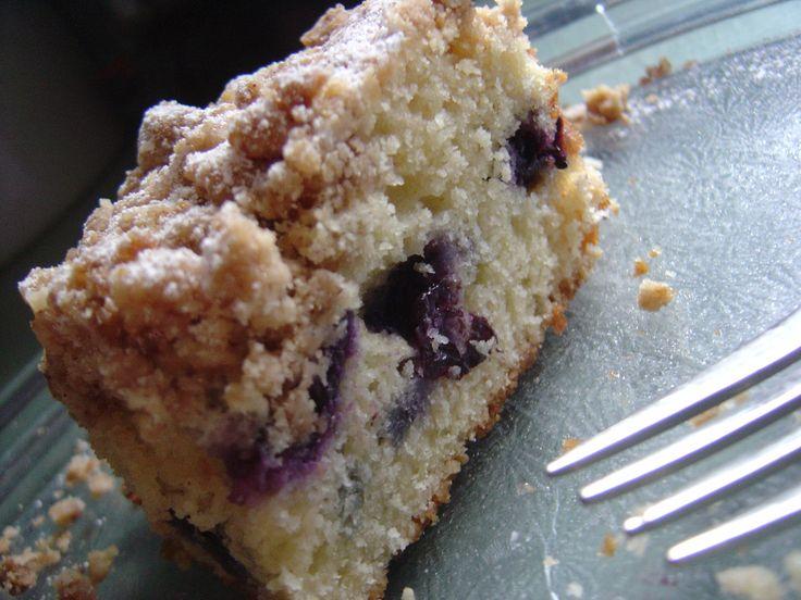 blueberry crumb cake - Ina Garten Pinterest