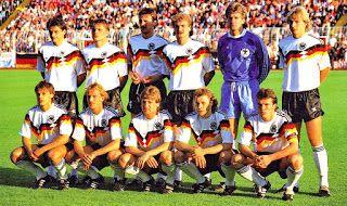 EQUIPOS DE FÚTBOL: SELECCIÓN DE ALEMANIA contra Holanda 21/06/1988