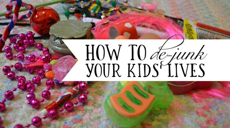 """If you're tired of the """"junk"""" kids accumulate via goodie bags, prizes and kids meal surprises, here are tips for decluttering kids toys."""