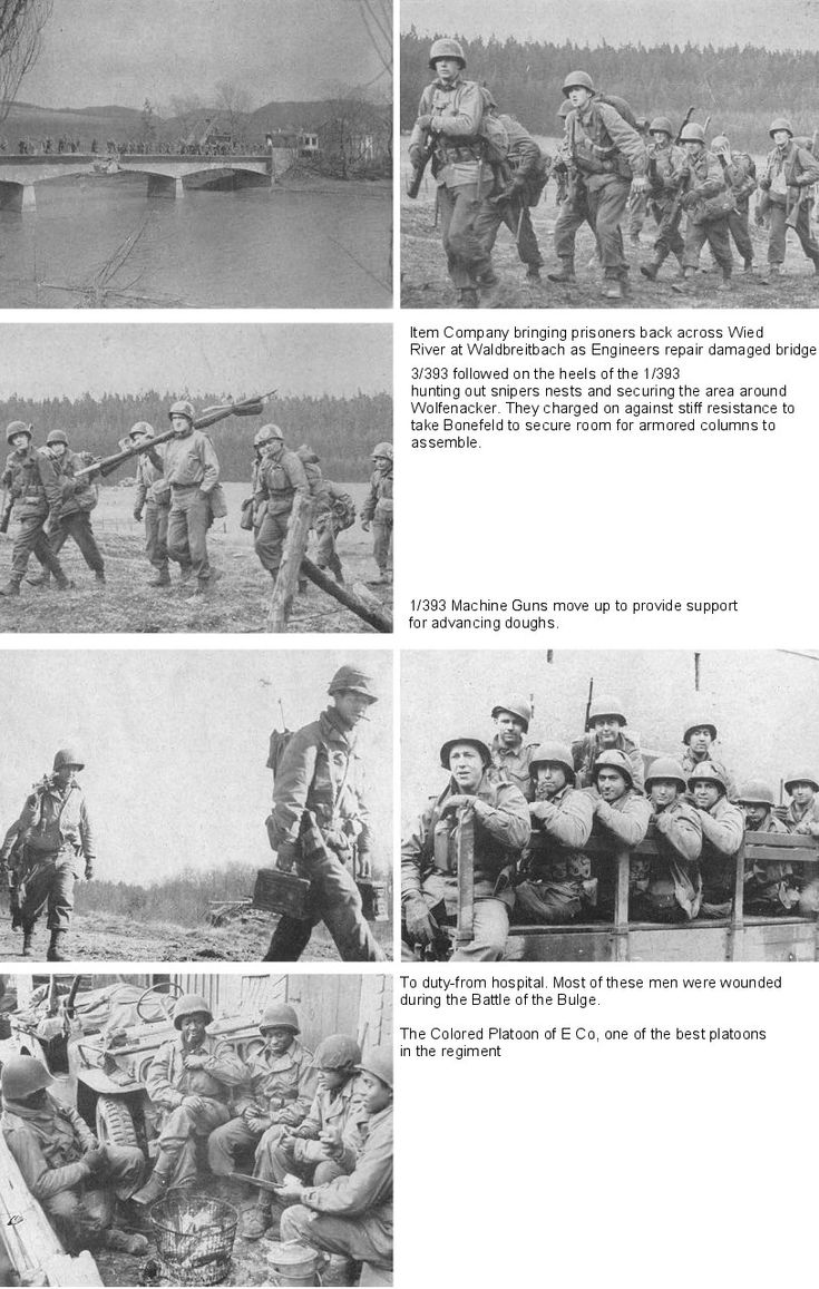 European Center of Military History; 393rd Infantry Regiment, 99th Infantry Division (Battle Babies 1944-1945) | EUCMH | Page 4