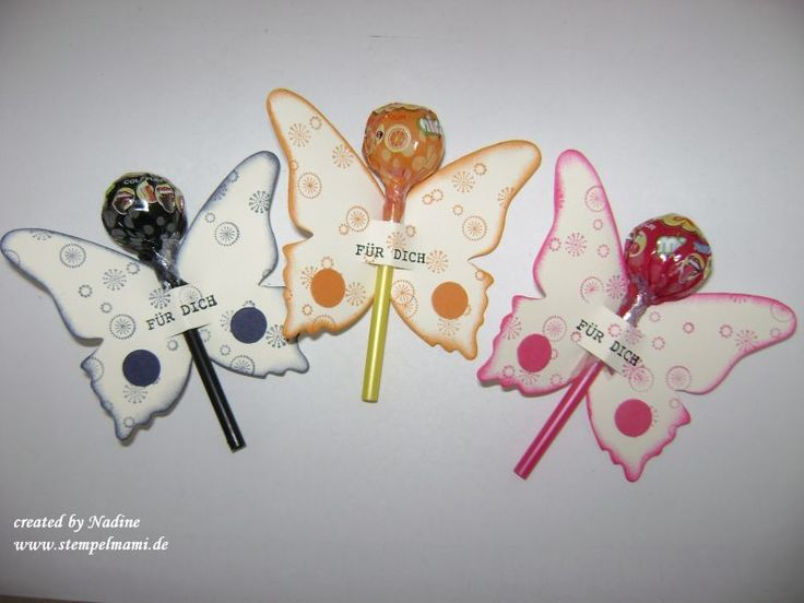 Lollie Verpackung Give Away Stampin Up