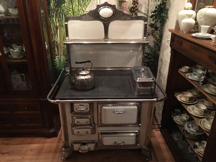 die besten 25 antiker herd ideen auf pinterest vintage. Black Bedroom Furniture Sets. Home Design Ideas