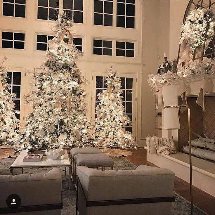 Stone Mountain And Design Stonemountaincastings Instagram Photos And Videos White Christmas Decor Christmas Decorations Christmas Interiors