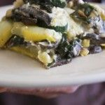vegetable lasagna with cashew cheese