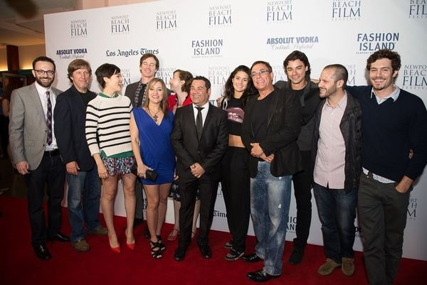The cast of Welcome to the Jungle