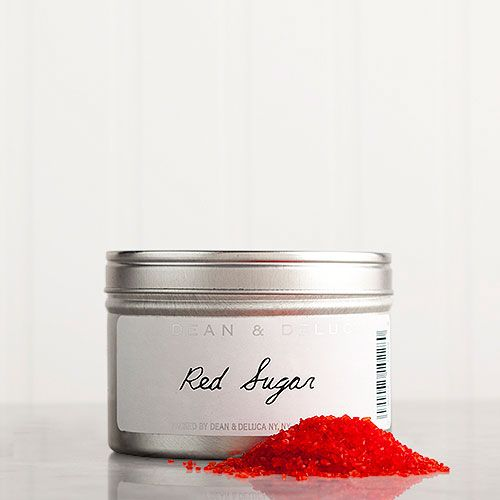 DEAN & DELUCA Red Sanding Sugar