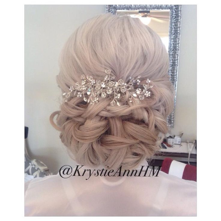 Hair: www.krystieann.com  Wedding hair, bridal hair, wedding updo, bridal updo, punta cana bride, punta cana wedding, majestic resorts, platinum hair, blonde hair, blonde updo