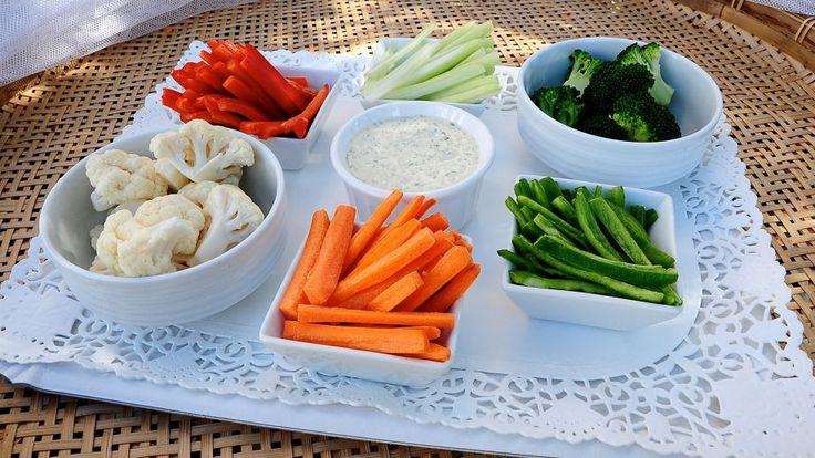 Salsa Green Goddess (dip para verduras crudas)