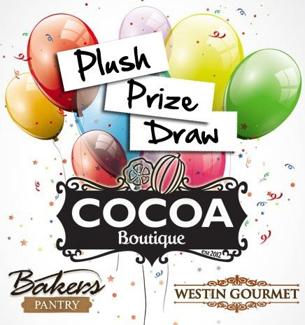 Do you fancy winning one of three plush foodie prizes this month including a two month supply of Cocoa Boutique chocolates?    Amy and our chocolatiers love reading your feedback on their unique creations so, to reward you for your comments, when you leave your scores this month you will automatically be entered into the draw to win one of three gourmet prizes!   THIS COMPETITION HAS NOW CLOSED