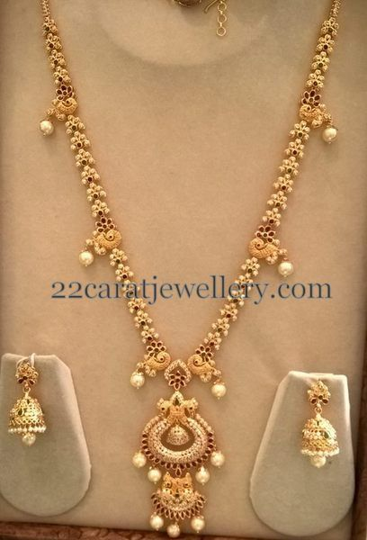 Latest Cz Long Chain By Smj Indian Jewels I