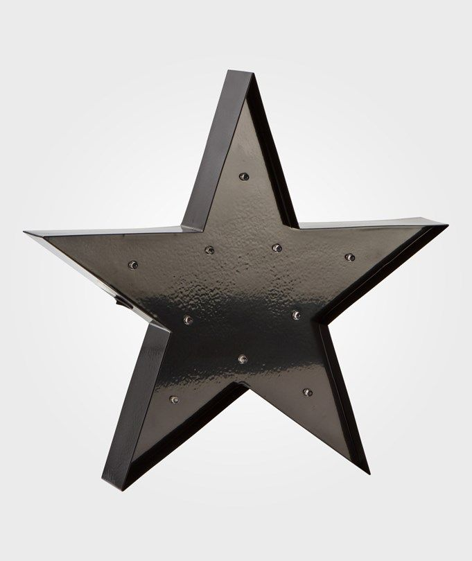 Sweet Lights Star Mini Marquee Lamp Black Black