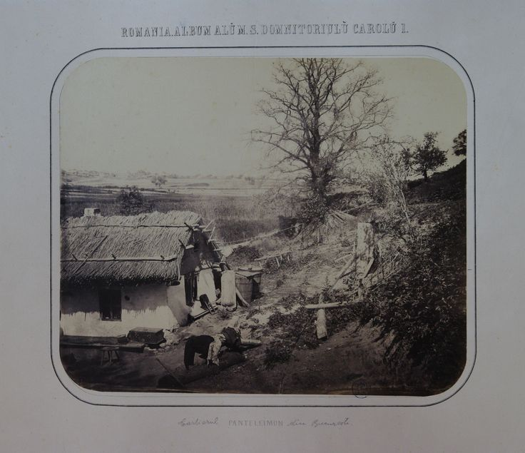 Carol Popp de Szathmary - Panteleimon village (East district of the city nowadays) in 1867