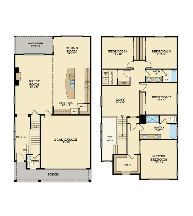 17 Best Images About Lennar Seattle Floorplans On