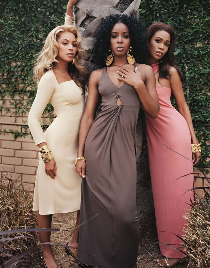 Destiny's Child R'B, soul, hip hop, pop, Girl group Beyonce Knowles, Kelly Rowland & Michelle Williams
