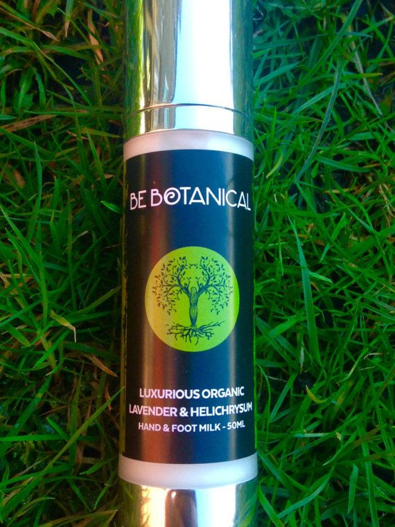 Be Botanical  Luxurious Lavender & Helichrysum Hand by BeBotanical