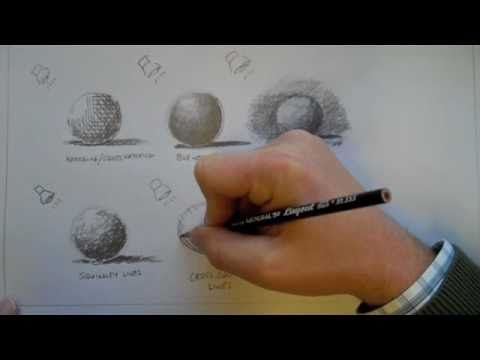 Graphite or Pencil Drawing Techniques - YouTube