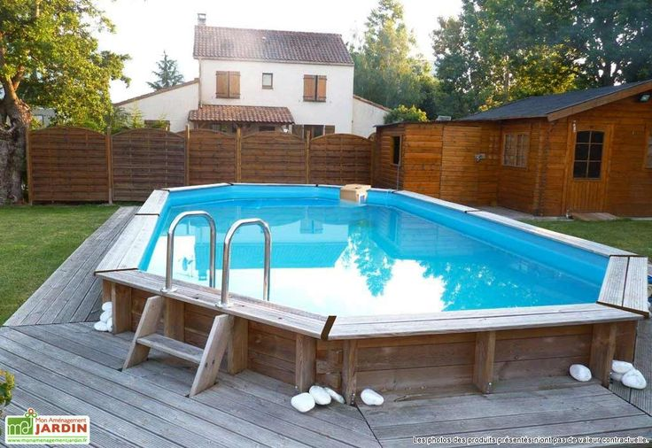 piscine bois hors sol ovale oblong 390 x 620 cm maisin swimming pools swiming pool et