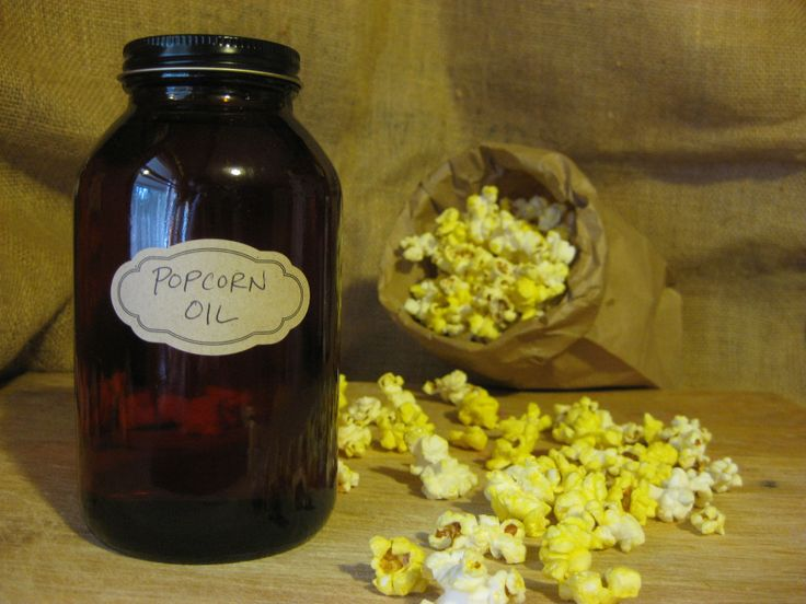 Homemade Movie-Style Popcorn Oil