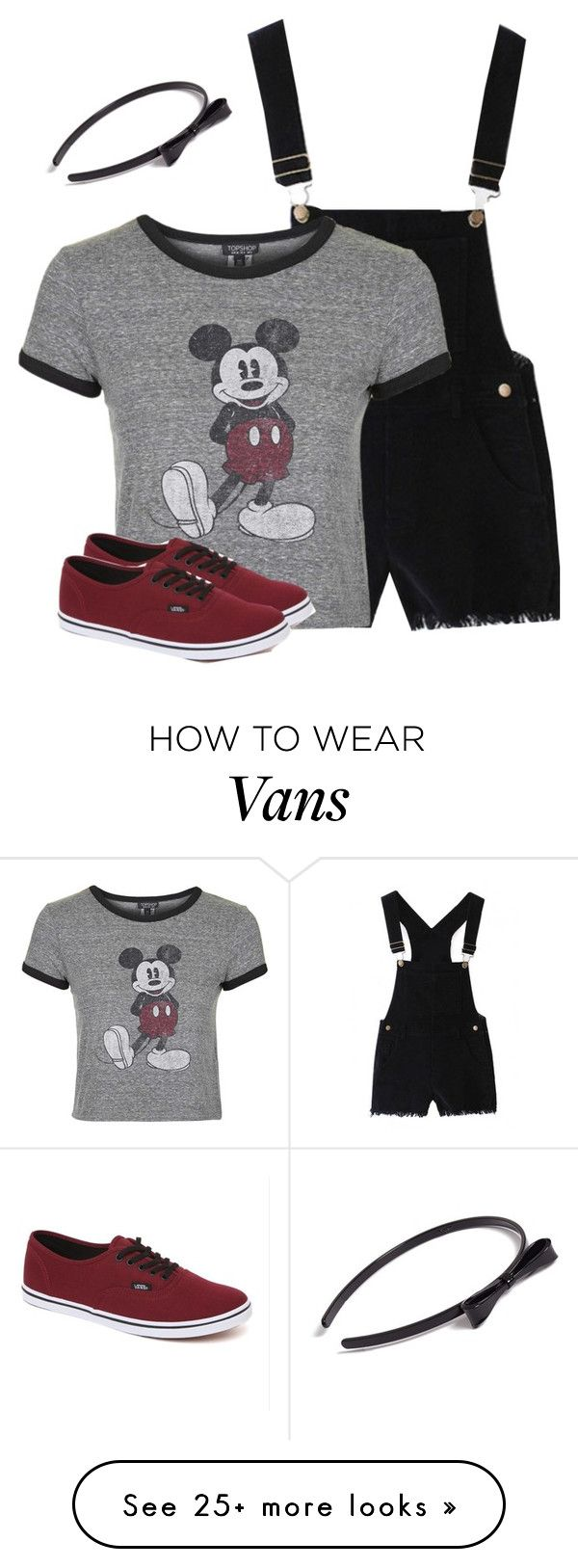 """""""Two-Bit was ❌"""" by wafflez-cry-syrup on Polyvore featuring Topshop, Vans and L. Erickson"""