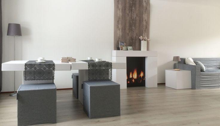 home > portfolio > Zakelijk diversen > Kartonnen meubelen - Interieurvormgeving Jacqueline