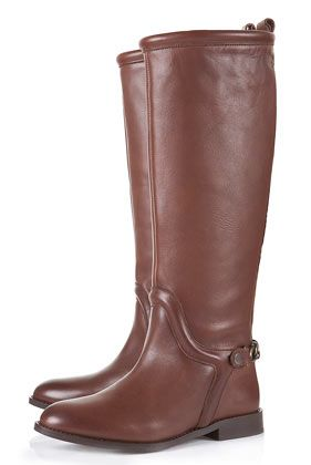 #TOPSHOP	PAX Chain Riding #Boots #fashion #shoes