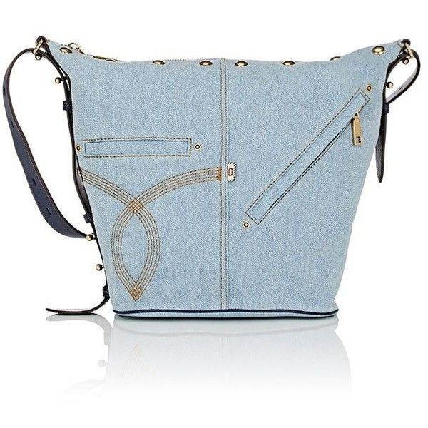 Marc Jacobs Women's The Sling Convertible Bag ($450) ❤ liked on Polyvore featuring bags, handbags, shoulder bags, blue, marc jacobs backpack, convertible crossbody backpack, convertible backpack purse, hobo crossbody and denim backpack