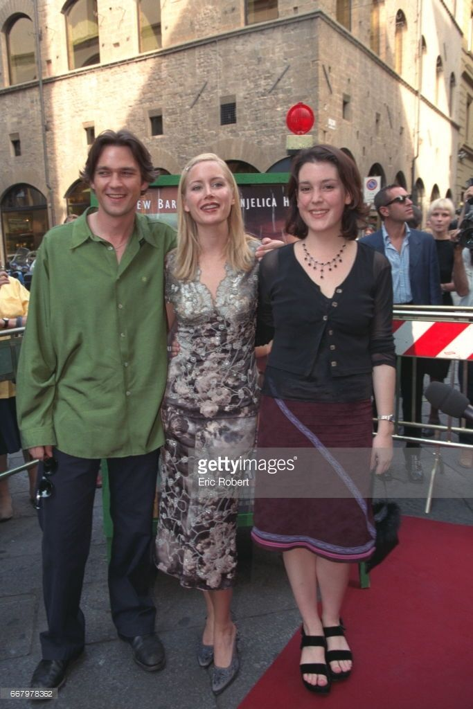 Dougray Scott, Megan Dodds and Melanie Lynskey, the movie's co-stars, arrive at the Teatro Odeon.