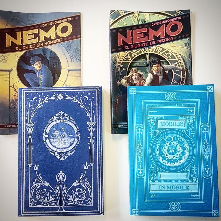 Nosotras nos vamos a Atlantis con estas aventuras del joven Nemo en el viaje 00-4 de #lavueltaalmundoconbooktube. ⛵ Recorreremos Europa, viajaremos veinte mil leguas submarinas y lucharemos con poderosos enemigos. Novelas de fácil lectura (200 páginas).