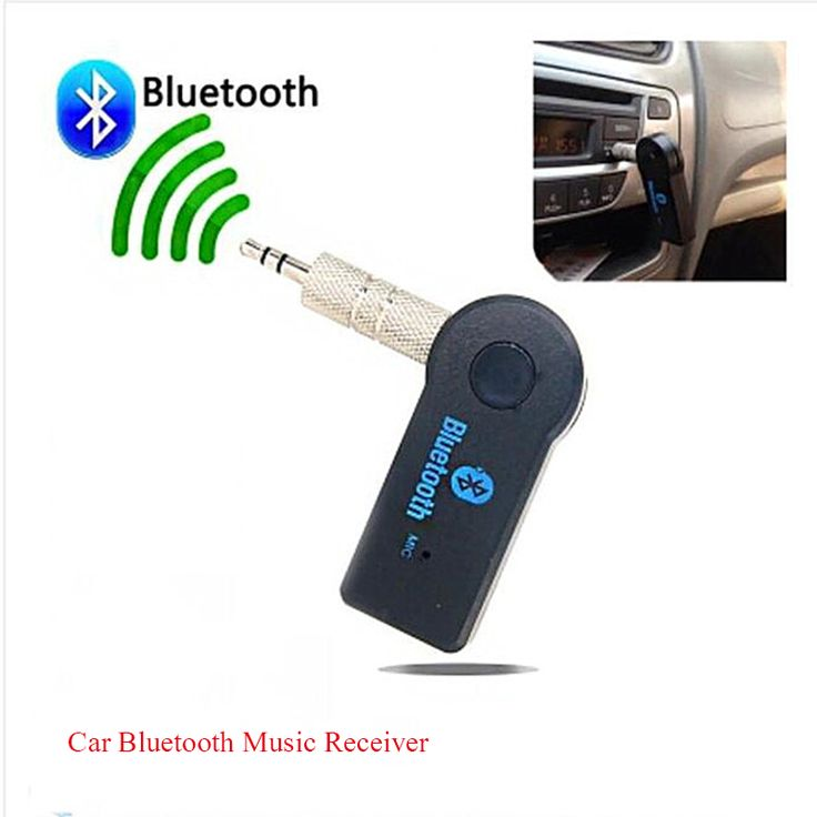3.5mm Bluetooth audio Receiver with microphone hands-free Bluetooth car wireless receiver AUX portable wireless adapter
