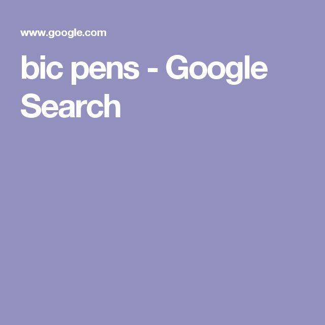 bic pens - Google Search
