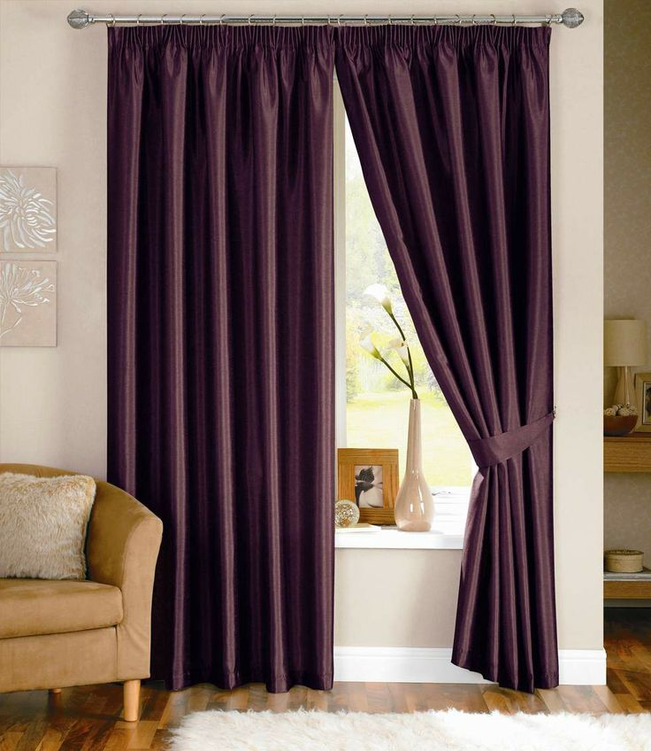 Annie - Aubergine Ready Made Curtains from £30.70 (A beautiful Plain Purple Eyelet curtain with a Cotton Lining)  [Save another 10% on this curtain through entering the code: UKCRC1410 at checkout]. http://www.ukcurtainsandinteriors.co.uk/acatalog/Annie-Aubergine-eyelet-readymade-curtain.html