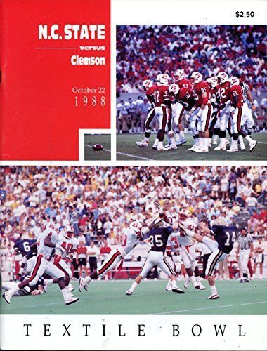 Shop our latest products now! Clemson Tigers vs... is available today at http://childhood-sports-memories.myshopify.com/products/clemson-tigers-vs-north-carolina-state-wolfpack-football-program-10-22-1998?utm_campaign=social_autopilot&utm_source=pin&utm_medium=pin