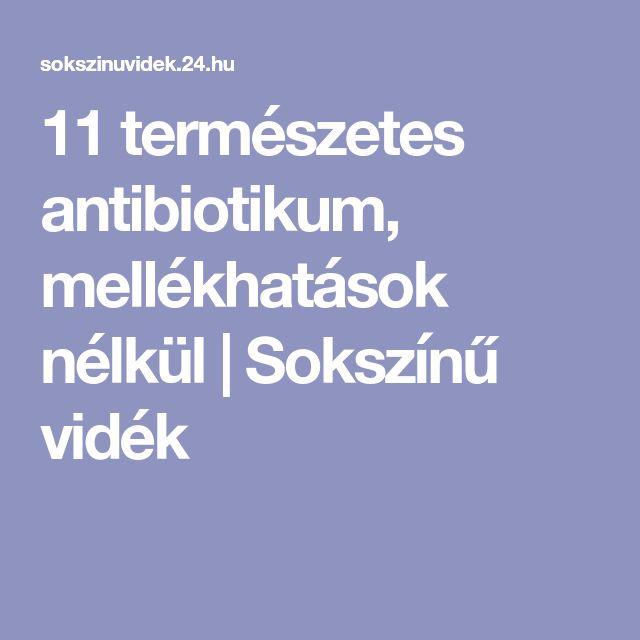 11 természetes antibiotikum, mellékhatások nélkül | Sokszínű vidék