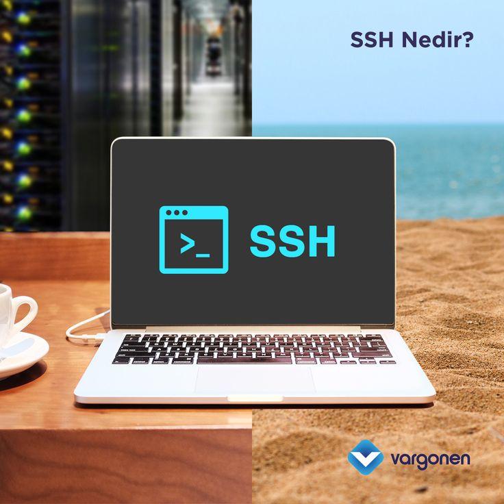 Uzak sunucu bağlantı protokollerinden birisi olan SSH (Secure Shell) Nedir? Bazı basit SSH komutları nelerdir? sorularını sizler için yanıtladık. #vargonen #ssh #secureshell
